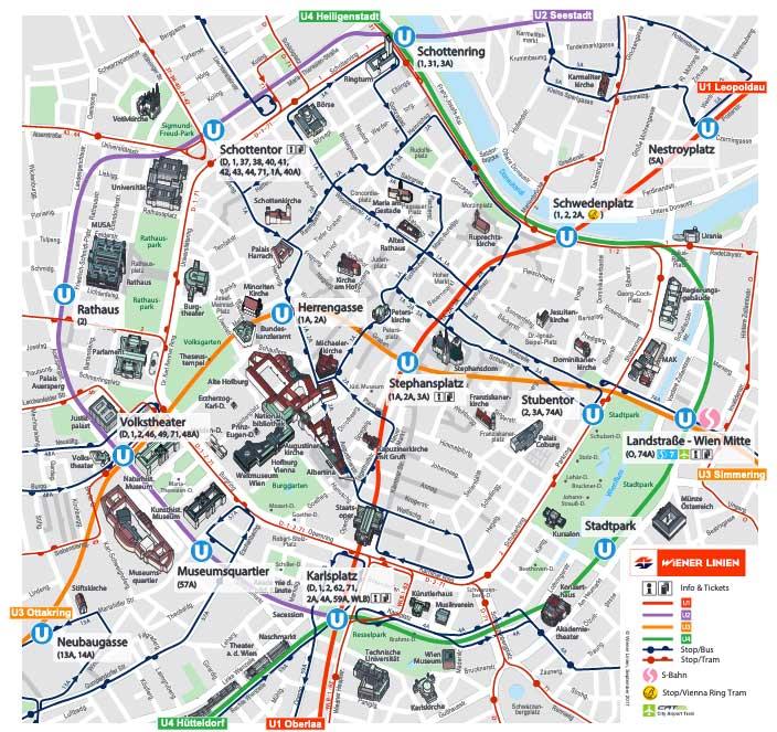 metrokaart wenen